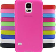 Solid Color Jelly Silicone Case Design Pattern For Samsung Galaxy S5 I9600 (Assorted Colors)