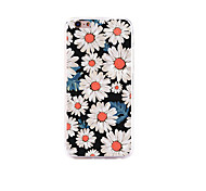 JDHDL Flower Creative Fashion Silicone Case Protector Shell for I6