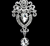 Wedding Décor Crown Style Crystal Brooch   Decoration