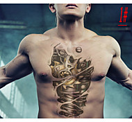 High quality fashion Safe non-toxic waterproof 3D pattern tattoo stickers / one-time Large size Tattoo arm