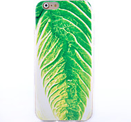 Green Cabbage Pattern Software Phone Case for iPhone 6