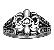 Cross Exaggerated Personality Rock Titanium Steel Stainless Steel Men's Ring