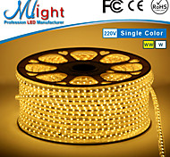 Mlight 1 Meter 72 leds/m 5050 SMD Warm White/White Waterproof/Cuttable 3 W Flexible LED Light Strips AC110-220 V