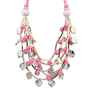 European Style Fashion Multilayer Beaded Necklace