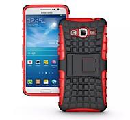 Para Funda Samsung Galaxy Antigolpes / con Soporte Funda Cubierta Trasera Funda Armadura Policarbonato Samsung Grand Prime