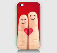 Cartoon Fingers Pattern Case Back Cover for Phone4/4S Case
