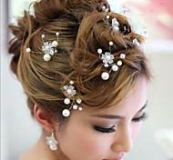 Crystal Crown Hair Clip Bride Hair Wedding Headdress Wedding Accessories One Piece