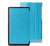 de cuero de lujo plegable caso folio completo soporte del cuerpo de pestaña lenovo 2 a7-10f (colores surtidos)