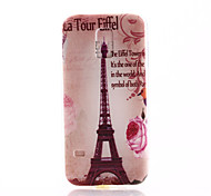 For Samsung Galaxy Case Pattern Case Back Cover Case Eiffel Tower TPU Samsung S5 Mini
