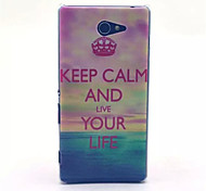 Choi Pattern PC Hard Case for Sony Xperia M2