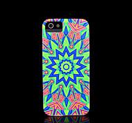 azteco copertura del modello mandala fiore per il iphone 5 caso per iphone 5s