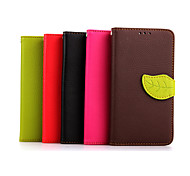 Luxury PU Leather Skin Flip Stand Case For LG G3 Phone Shell Leaf Pouch Wallet Handbag+Lanyard+Card Slot