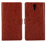 YMX-Solid color Light Surface PU Leather Full Body Wallet Protective Case for HTC Desire 620 (Assorted Colors)