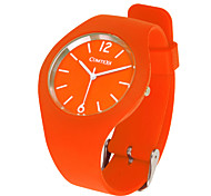 COMTEX SYM139014 fashion movement silicone quartz watch