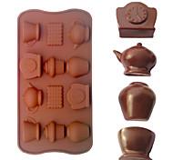чайник в форме формы для выпечки льда / шоколада / прессформы торта