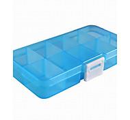 Schmuckbehälter Acryl 1 Stück Weiß / Blau / Orange / Rosa