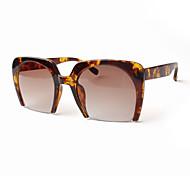 mujeres 's Espejo/100% UV400 De Gran Tamaño Gafas de Sol