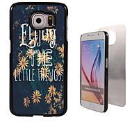 genieten ontwerp aluminium koffer voor Samsung Galaxy s6