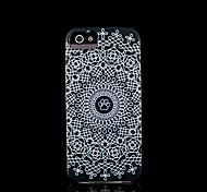 cubierta del patrón de flor mandala azteca para el iphone 4 para el iphone 4s