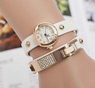 relógios estrela pulseira de diamantes mesa das mulheres três enrolamento cinto de lantejoulas relógio retro