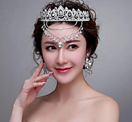 Luxurious Rhinestones Wedding/Party Headpieces/Forehead Jewelry