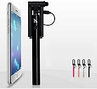 без Bluetooth новой выдвижной складной карманный Автопортрет держателя selfie палкой для смартфона (ассорти цветов)
