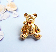 European Fashion Lovely Bear Alloy Brooch (1Pc)