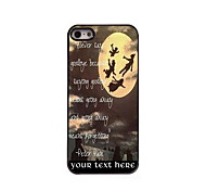 Personalized Gift Never Say Goodbye Design Aluminum Hard Case for iPhone 5/5S