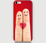 Cartoon Fingers Pattern Case Back Cover for Phone6 Case