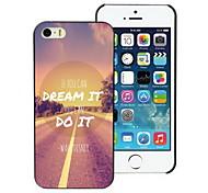 träumen und weiß Design Hard Case für iPhone 4 / 4s