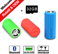 32GB TF Card Mini Portable Sport Bluetooth Speaker Waterproof,Dropproof/ Shockproof/ Long time standby Wireless Speakers