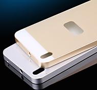 per il caso di HTC caso placcatura caso della copertura posteriore in acrilico dura di colore solido per HTC Desire 816