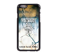 Personalized Gift You Make All Things New Design Aluminum Hard Case for iPhone 6