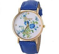 Ladies'  Fashion Wrist Watch High-Grade Zhivago Quartz Watch Leather Band Material Bracelet Watch