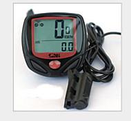 Bicicleta Computadores ( DE ABS/Componente Electrica , Preta ) -Impermeável/AV - Velocidade Média/Max - Velocidade Máxima/ODO