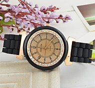 Unisex  Silica Gel Jelly Golden Diamond The Student Dress Watch Silicone Band Quartz Wrist Watch