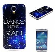 coco de la marche dans le motif de pluie TPU doux IMD de couverture de cas pour les Samsung Galaxy S i9500