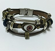 Vintage/Party/Casual Leather Leather Bracelet