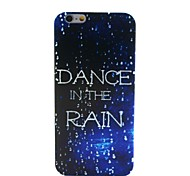 Dance In The Rain Painting Soft TPU Case for iPhone 6