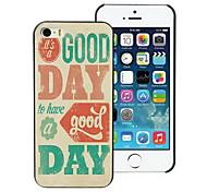 il est un bon étui rigide de conception de jour pour iphone 5 / 5s