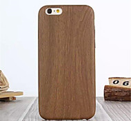 Multicolor Wood PU Phone Case For iPhone 6 (Assorted Colors)