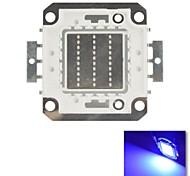 diy 30w azul cor de chips lâmpada de poupança de energia de alta potência levou módulo (dc30-36v)