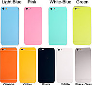 Full Body Side+Top+Back+Button Pure Color Skin Sticker for iPhone 5/5S(Assorted Colors)