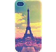 choi Turm Muster transparent gefrostet PC Schutzhülle für iPhone 4 / 4s