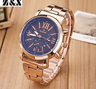 Men's Fashion Sport Quartz  Steel Belt Watch(Assorted Colors) Wrist Watch Cool Watch Unique Watch