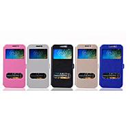 cellulare fondina moda di alta qualità casi PU corpo pieno per la galassia e7 (colori assortiti)