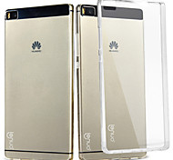 for Huawei Ascend P8 Mobile Phone Sets Breaker Shell Transparent Shell  Crystal Shell Soft Shell