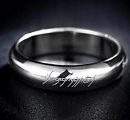 Z&X® Men's Party/Casual Fashion Punk Titanium Steel Rings