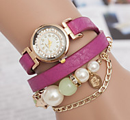 Women's Watches European And American Fashion Ladies Pearl Bracelet Watch Vintage Watch Chain Belt Winding Cool Watches Unique Watches