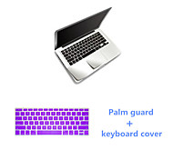 Sliver Slim PalmGuard and TPU Solid Colors Keyboard Flim for Macbook Retina 13.3 inch (Assorted Colors)